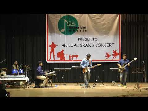 All Along the Watch Tower - Western Vocal, Electric Guitar, Bass Guitar, Keyboard, Drums - NSM Annual Grand Concert 2017