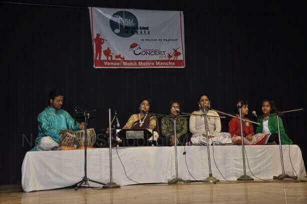 Bhajan - Indian Vocal with Tabla at Northern School of Music Concert 2016