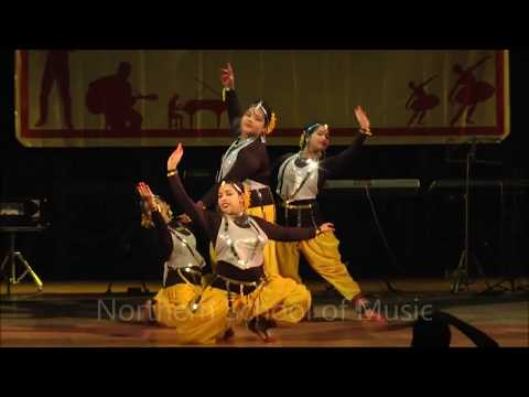 Fusion Dance - Bharatanatyam, Kathak, Odissi - NSM Annual Grand Concert 2017