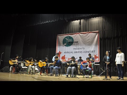 Let It Be - Western Vocal, Classical Guitar, Spanish Guitar, Electric Guitar, Bass Guitar, Keyboard, Drums, Cajon - performance at NSM Annual Grand Concert 2017