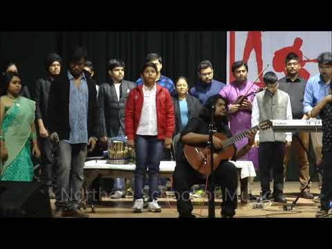 National Anthem Improvisation - Jana Gana Mana - Classical Guitar, Keyboard / Synthesizer, Violin, Vocal / Singing