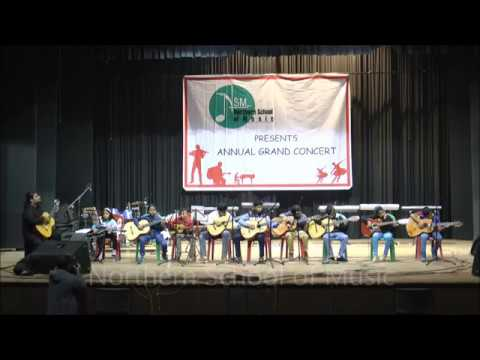 Polar Express & Jingle Bell Medley - Classical Guitar - NSM Annual Grand Concert 2017