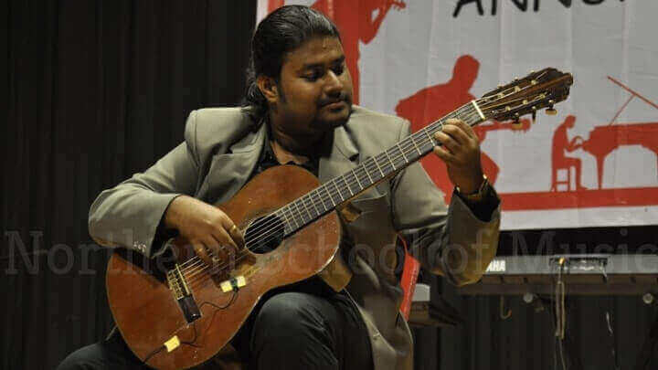 Mr. Sambit Chatterjee - Ex Classical Guitar student at Northern School of Music