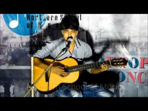 Western Vocal with Classical Guitar - Rooftop Concert, May 2018 - NSM Music School Kolkata